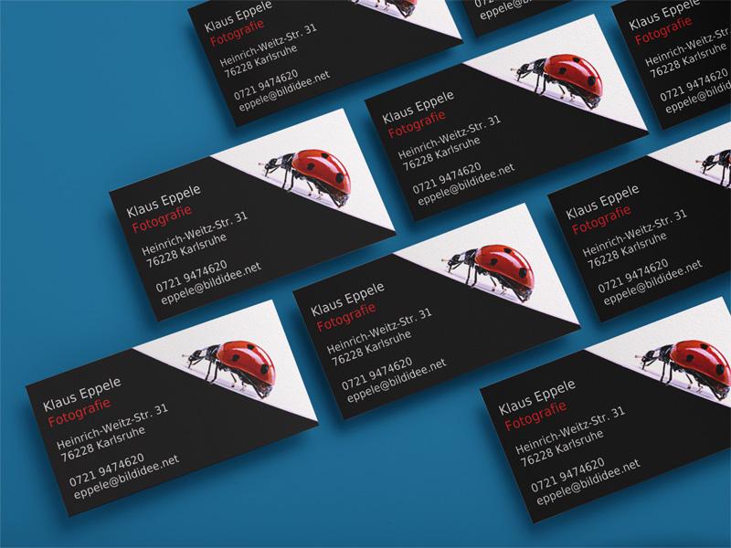 Visitenkarten für Klaus Eppele